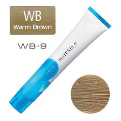 Lebel Materia µ Layfer WB9 - Тонирующая краска лайфер, Очень светлый блондин тёплый 80гр