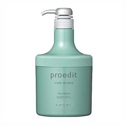 Lebel Proedit Home Charge Soft Fit Plus Treatment - Маска для жестких, непослушных/очень поврежденных волос 600 мл