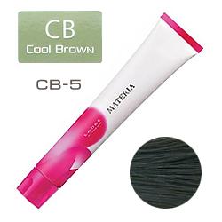 Lebel Краска для волос materia CB5 - Светлый шатен холодный коричневый 80 гр