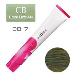 Lebel Краска для волос materia CB7 - Блондин холодный коричневый 80 гр