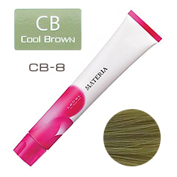 Lebel Краска для волос materia CB8 - Светлый блондин холодный коричневый 80 гр