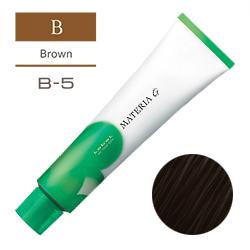 Lebel Краска для волос Materia G Тон B5 - Очень тёмный коричневый 120 гр