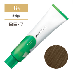 Lebel Краска для волос Materia G Тон BE7 - Блондин бежевый 120 гр.