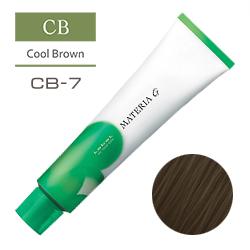 Lebel Краска для волос Materia G Тон CB7 - Блондин холодный 120 гр