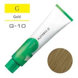 Lebel Краска для волос Materia G Тон G10 - Яркий блондин желтый 120 гр.