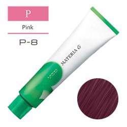 Lebel Краска для волос Materia G Тон P8 - Светлый блондин розовый 120 гр.