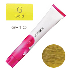 Lebel Краска для волос materia G10 - Яркий блондин жёлтый 80 гр