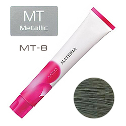 Lebel Краска для волос materia MT8 - Светлый блондин металлик 80 гр