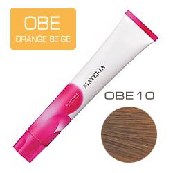 Lebel Краска для волос Materia OBE10 - Яркий блондин оранжево-бежевый 80 гр