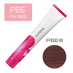 Lebel Краска для волос Materia PBE8 - Светлый блондин розово-бежевый 80 гр
