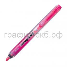 Маркер текст.Pentel Handy-Lines автоматический 1.0/4.5мм розовый SXS15-P