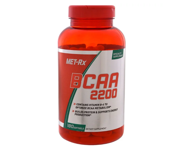 MET-RX BCAA 2200 180 ТАБЛ