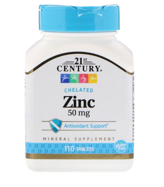 21st Century Цинк 50 мг 60 табл