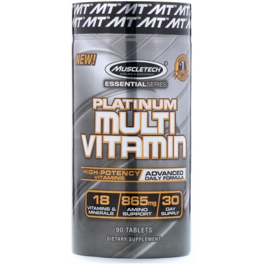 MuscleTech Platinum MultiVitamin 90 ТАБЛ