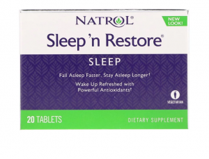 NATROL SLEEP 'N RESTORE 20 ТАБЛЕТОК