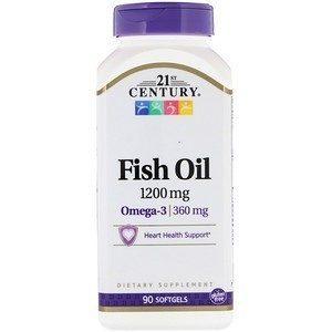 21st Century Рыбий жир 1200 мг 90 табл