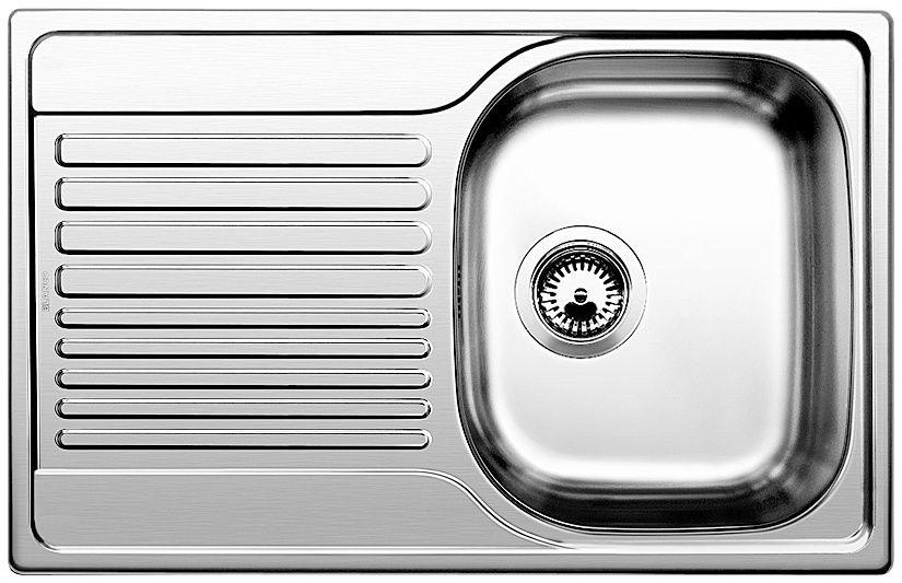 """Мойка Blanco Tipo 45 S Compact 513675 сталь """"декор"""" ФОТО"""