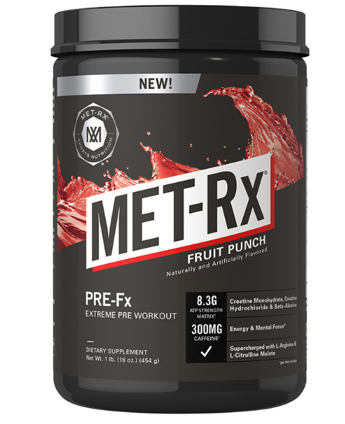 MET-Rx  Pre-Fx Extreme 454 г
