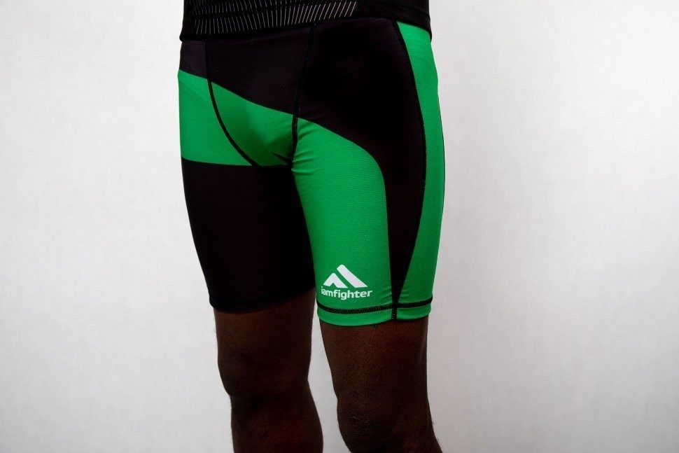 Компрессионные шорты - Green