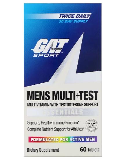 GAT Mens Multi + Test 60 табл