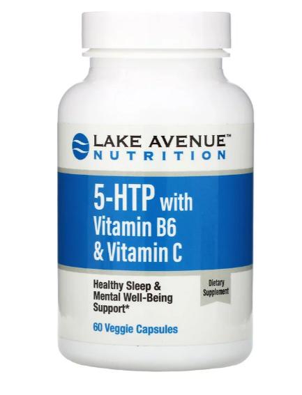 Lake Avenue Nutrition 5-HTP + B6+ C  60  капс