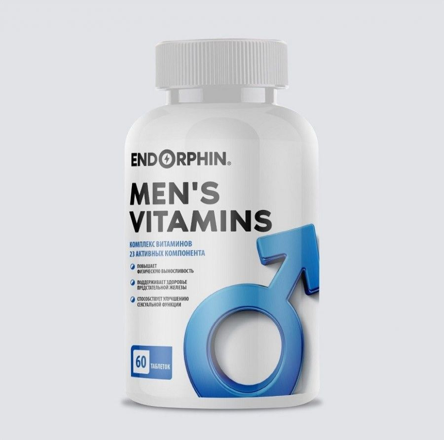ENDORPHIN MEN'S VITAMINS 60 ТАБЛ