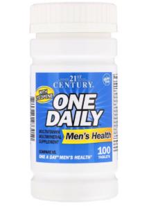 "21st Century One Daily Men""s 100 таб"