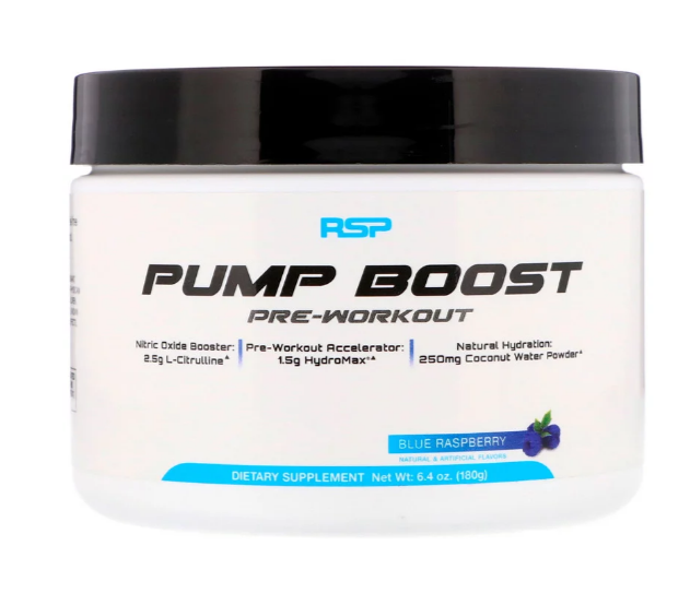 RSP Pump Boost Pre-Workout 180 гр