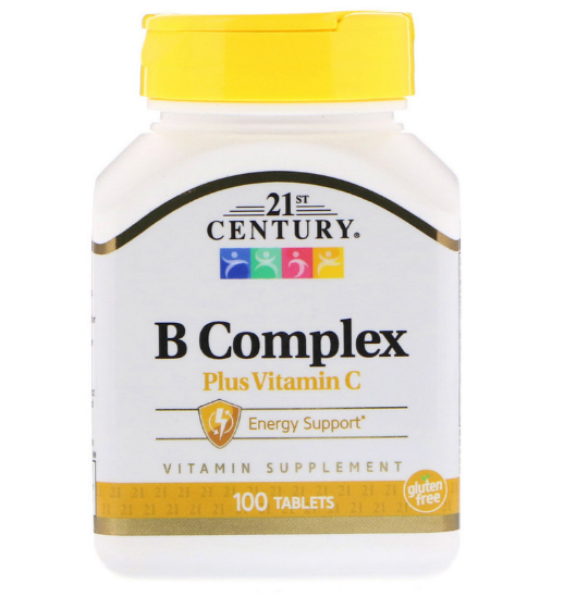 21st Century B Complex + Vitamine C 100 таб