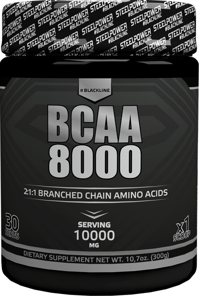 SteelPower BCAA 8000  300 гр