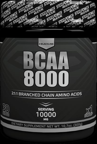SteelPower BCAA 8000  300 гр