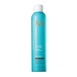 MoroccanOil Luminous Extra Strong Hairspray - Сияющий лак для волос экстра сильной фиксации 330 мл