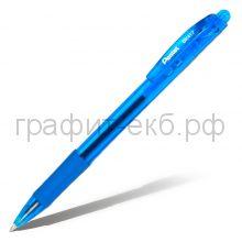 Ручка шариковая Pentel BK417 Wow матовый корпус синяя