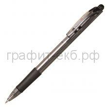Ручка шариковая Pentel BK417 Wow матовый корпус черная