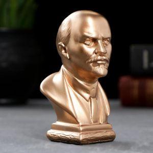 Бюст Ленин средний, бронза / мраморная крошка 5384924