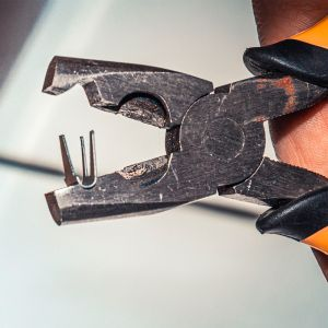 Скобы металлические 1,2 см * 1,1 см