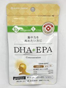 Омега-3 (EPA+DHA) на 15 дней.