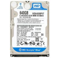 "Накопитель HDD 2.5"" SATA  640GB WD Blue 5400rpm 8MB (WD6400BPVT) гар. 12 мес. Refurbished"