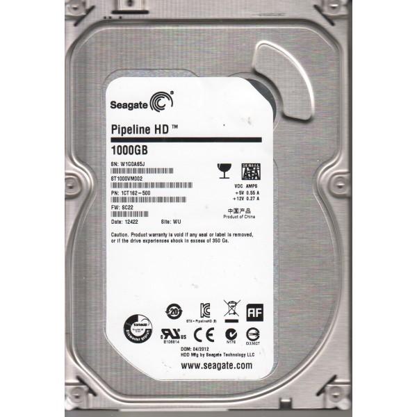 Накопитель HDD SATA 1.0TB Seagate Pipeline HD 5900rpm 64MB (ST1000VM002) Refurbished