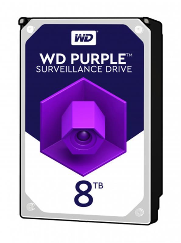 Накопитель HDD SATA 8.0TB WD Purple 7200rpm 256MB (WD82PURZ)