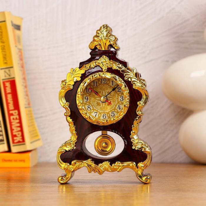 Часы-будильник настольные, d=4.2 см, 1 АА, дискретный ход, микс   5169370