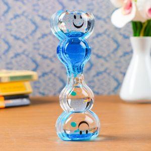"""Гелевые песочные часы """"Смайлик"""", 14.5х5 см, микс 4476146"""
