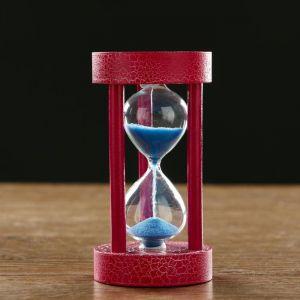 """Часы песочные """"Кемадо"""", сувенирные,  6х11.5 см, песок микс   5066609"""