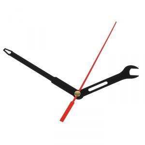 Комплект из 3-х стрелок для часов черные ключ отвертка 65/90 (691) (фасовка 100 наборов) 2310938