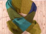 Полосатый шарф. Шарф в подарок. Длинный шарф