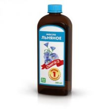 Льняное масло, 500 мл.