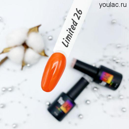 Гель-лак Limited 26 YouLac, 10 ml