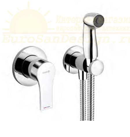 Гигиенический душ Kludi Zenta SL 489990565 со смесителем ФОТО