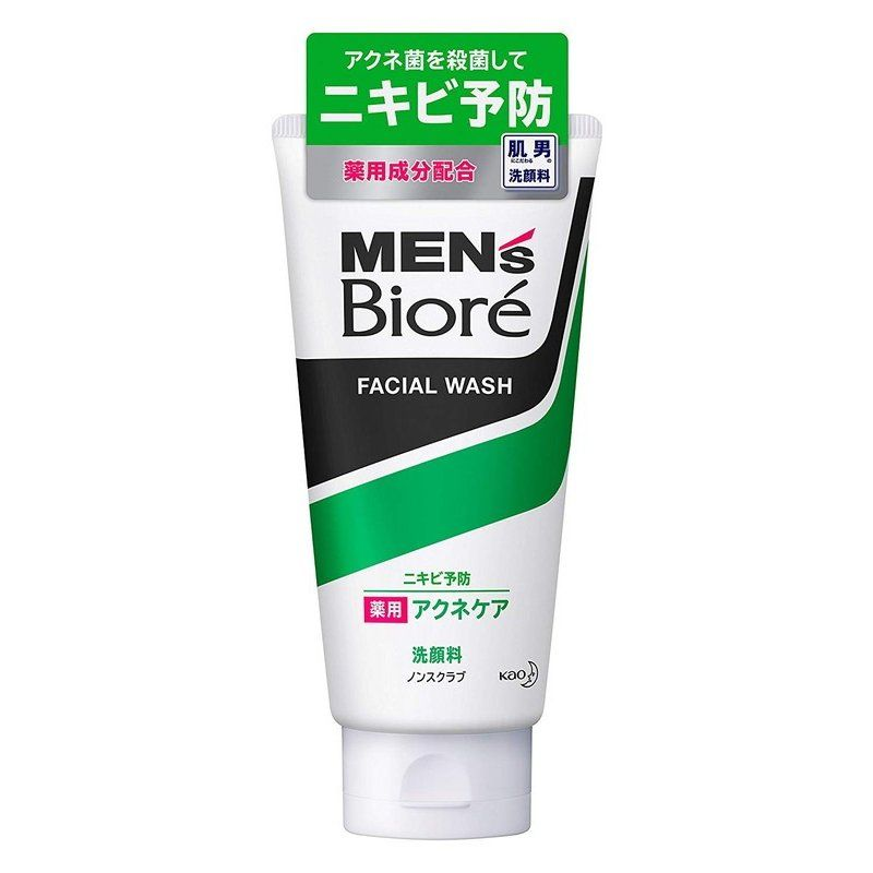 Пенка для умывания Men's Biore ACNE care 130гр.