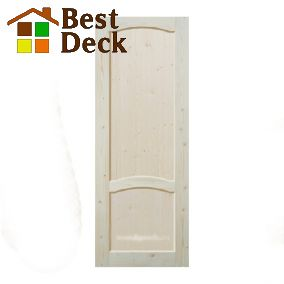 Двери из массива сосны неокрашенная; филёнчатая ДГФ-АА